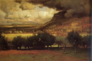 George Inness : The Coming Storm